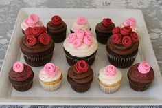 Make your own fondant!  Get the recipe, with photos here  Make these cute Valentine's Day Cupcakes