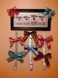 Image result for diy cheer bow holder
