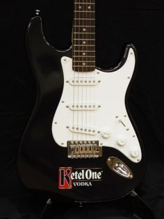 The Ketel One promotional guitars by Brand O' Guitar Company