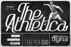 The Athletica Font is an handcrafted vintage monoline script and sans-serif. Inspired by retro posters and magazines, postcards and ads in and Font Pretty Fonts, Beautiful Fonts, Cool Fonts, Hand Lettering Fonts, Typography, Best Free Fonts, Title Font, Retro Font, Vintage Fonts