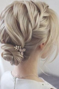 Wedding hairstyles ♥ If you have not yet decided on a wedding hairstyle, . - bridal hairstyles - # bride hairstyles # for Wedding hairstyles ♥ If you have not yet decided on a wedding hairstyle, . - bridal hairstyles - # bride hairstyles # for Wedding Hairstyle Images, Best Wedding Hairstyles, Hairstyle Ideas, Hair Ideas, Bride Hairstyles Short, Hairstyles Haircuts, Bob Hair Updo, Bride Short Hair, Wedding Hairstyles For Short Hair