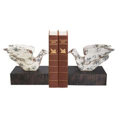 I pinned this Soaring Bird Bookend (Set of 2) from the Metallic Celebration event at Joss and Main!