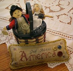 America - a freebie from The Nebby Needle.