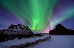 Magical night... Aurora Borealis in Iceland by Luka Esenko on 500px.