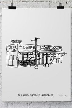 Your Favorite NYC Restaurants, Illustrated #refinery29  http://www.refinery29.com/2014/05/67083/massimo-mongiardo-knowlita-nyc#slide7  La Esquina