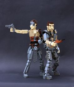 https://flic.kr/p/DwvcqJ | Fury Road! | Mad Max and Imperator Furiosa from outstanding Mad Max: Fury Road.  More on Cyclopic Bricks.