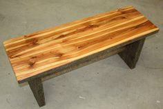 Custom Made Boot Bench