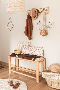 round ecru cotton rug D 90 cm - Decoration For Home Boho Decor, Rustic Decor, Decor Interior Design, Interior Decorating, Small Hall, Deco Studio, Deco Boheme, Style Deco, Home Decor Signs