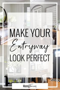 Entryway Decor Ideas For Entryway Tables - Inviting Entryway Design and Decor - Make Your Entryway Look Perfect #entryway #decor #homedecor #decorideas #moderndecor #farmhousedecor #rusticdecor #farmhouse #rustic #modern #boho #bohemian