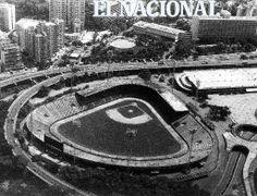 Estadio Universitario. Caracas, 03-10-1991 (ERNESTO MORGADO / ARCHIVO EL NACIONAL)