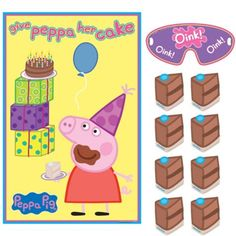 Peppa Pig Party Game - Party City