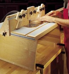 Benchtop Router Table Woodworking Plan, Workshop & Jigs Tool Bases & Stands