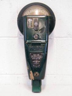 Columbus Architectural Salvage - Vintage Parking Meter