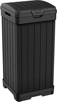 32 Trash Can Ideas Trash Can Metal Trash Cans Trash Cans