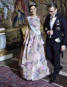 Swedish Royals attended 2017 Nobel Laureates Dinner