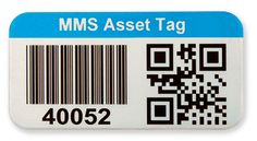 Metalized polyester labels are digitally printed for crisp barcodes and graphics with the shine of metal and the value of polyester barcode labels.