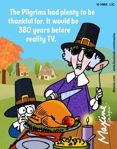 pilgrims | Maxine comic for 2014-11-23