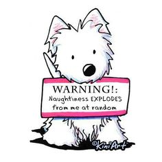 .At least he comes with a warning :)