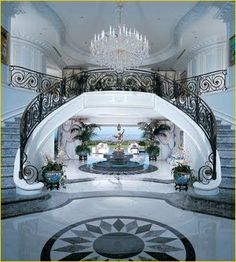 ~ Grand Stairway ~ interiorstyledesign.tumblr.com