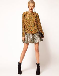 love this embellished sweater