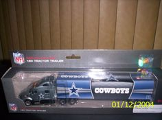 NEW! 2012 DALLAS COWBOYS TRAILER/PRESS PASS
