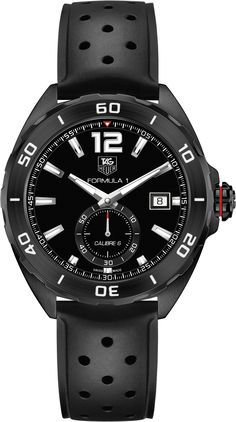 Tag Heuer Formula 1 Calibre 6 Automatic Watch 41mm Full Black Edition