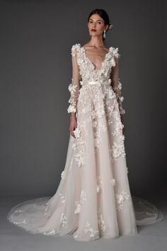 cbe9aa2c188 151 Best Marchesa Bridal images in 2019 | Marchesa bridal, Bridal ...