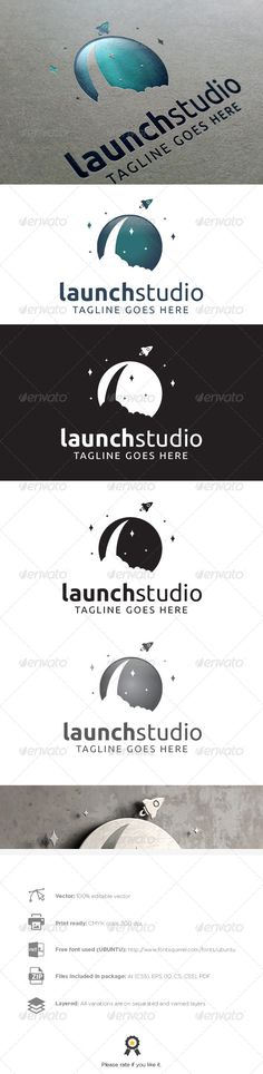 Launch Studio  - Logo Design Template Vector #logotype Download it here: http://graphicriver.net/item/launch-studio-logo/8012576?s_rank=843?ref=nesto