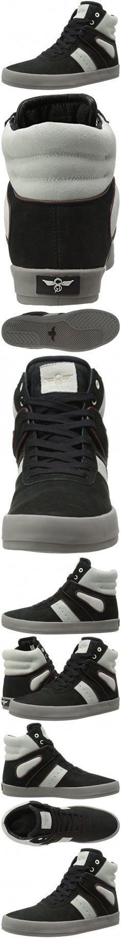 Creative Recreation Men's Moretti Fashion Sneaker, Black Marshmallow, 8.5 M US