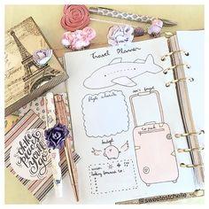 Take me to Paris... #travelplanner #plannerdecor
