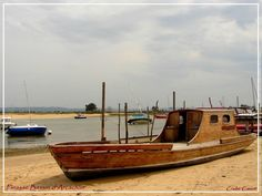 CrabeCanoë: Pinasse du Bassin d'Arcachon.