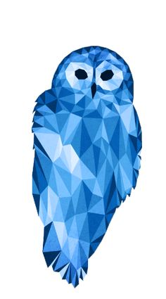 Polygonal Animals Owl