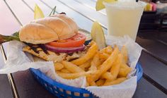 Sink your teeth in to this juicy Chicken Sandwich from Cabana's Beach Bar and Grille on Fort Myers Beach.