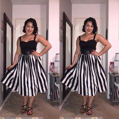 #JennyJuly my all time favorite Jenny skirt I own!  Who needs color during summer! #JennyJuly #retrofashion #retrostyle #retro #pinupgirlclothing #pinupgirlstyle #pinupstyle #pinupgirl #PinUp #pugclothing #ootd #wiw #wiwt @pinupgirlclothing