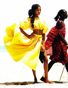 colorful African dress free flowing