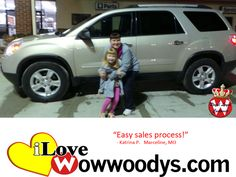 """Easy sales process!"" Katrina Pope Marceline, Missouri"