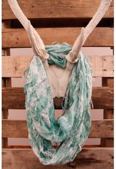 The Summer Breeze Infinity Scarf In Mint will become your new favorite scarf!