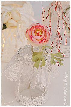 Windlichter und Vasen im Vintage-Stil als Hochzeitsdeko.http://de ...