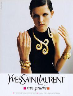 Yves Saint Laurent Ad, 1996