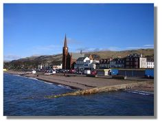 Largs Scotland. Great lil' antique shop, cafe and thrift store.  A fun drive to it.