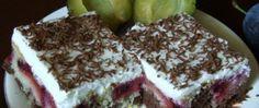 Recept Obrácený švestkový koláček se zakysanou smetanou