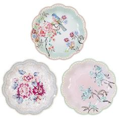 Our Tea Party Romantic Plates are the perfect addition to your scrumptious tea party!  Mix and match with a wide range of tea party decorations.