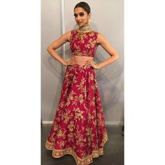 A glimpse of @deepikapadukone in this stunning outfit for her performance is enough to leave us wanting for more! #IIFA2016 -Team DP