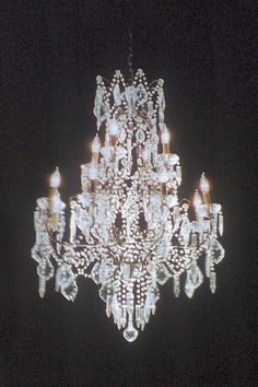 vintage chandelier -