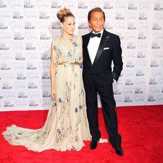 Valentino Clemente Ludovico Garavani:  Fashion DesignerSarah Jessica-Parker