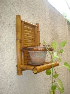 20+ Stunning DIY Bamboo Wall Art And Decor Ideas Bamboo Art, Bamboo Crafts, Wood Crafts, Diy And Crafts, Bamboo Ideas, Bamboo Light, Shelf Furniture, Bamboo Furniture, Buy Flowers Online