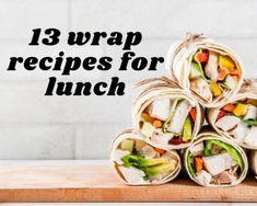 Tomato Zucchini Pie   Just A Pinch Recipes Wrap Recipes For Lunch, Turkey Wrap Recipes, Dinner Recipes, Chicken Avocado Wrap, Pesto Spinach, Pinch Recipe, Recipe Box, Healthy Wraps, Tomato And Cheese