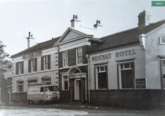 The Rocket Hotel, 1970 Jamaica, Old Photos, Liverpool, Past, Street View, London, Mansions, House Styles, City