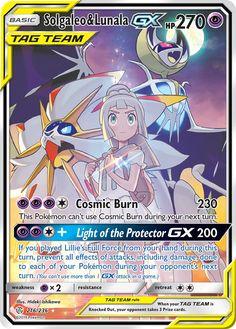 Solgaleo & Lunala GX (Full Art) - SM - Cosmic Eclipse, Pokemon - Online Gaming Store for Cards, Miniatures, Singles, Packs & Booster Boxes Carte Pokemon Mega, Pokemon Sammelkarten, Pokemon Legal, Tous Les Pokemon, Pokemon Cards For Sale, Cool Pokemon Cards, Rare Pokemon Cards, Pokemon Eeveelutions, Pokemon Trading Card