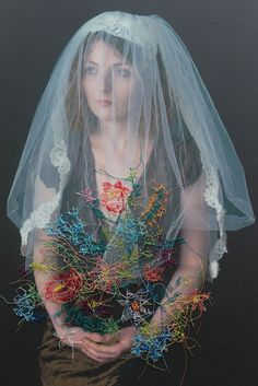 Embroidered Portraits by Melissa Zexter | iGNANT.de